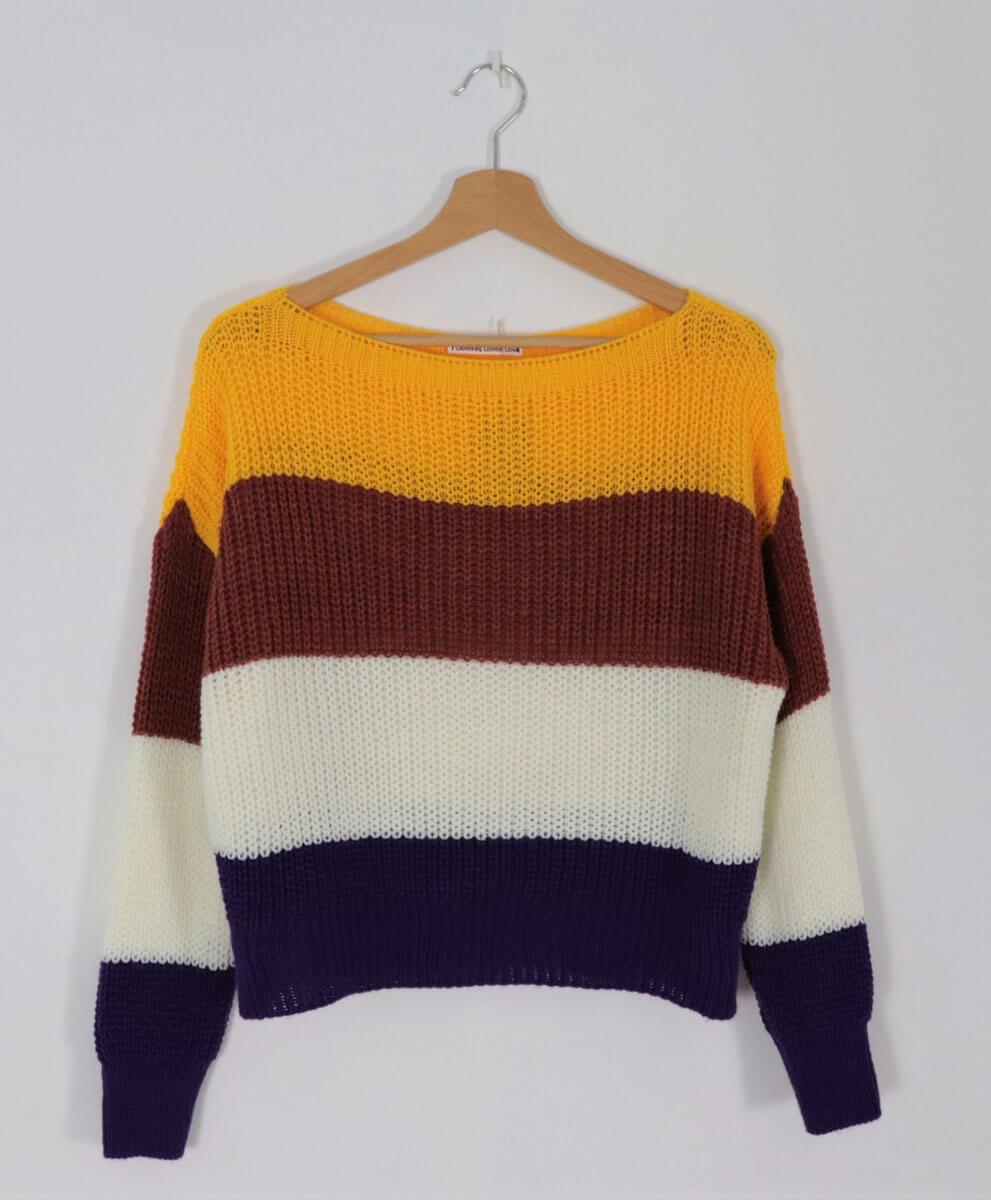 Jersey Multicolor Amarillo