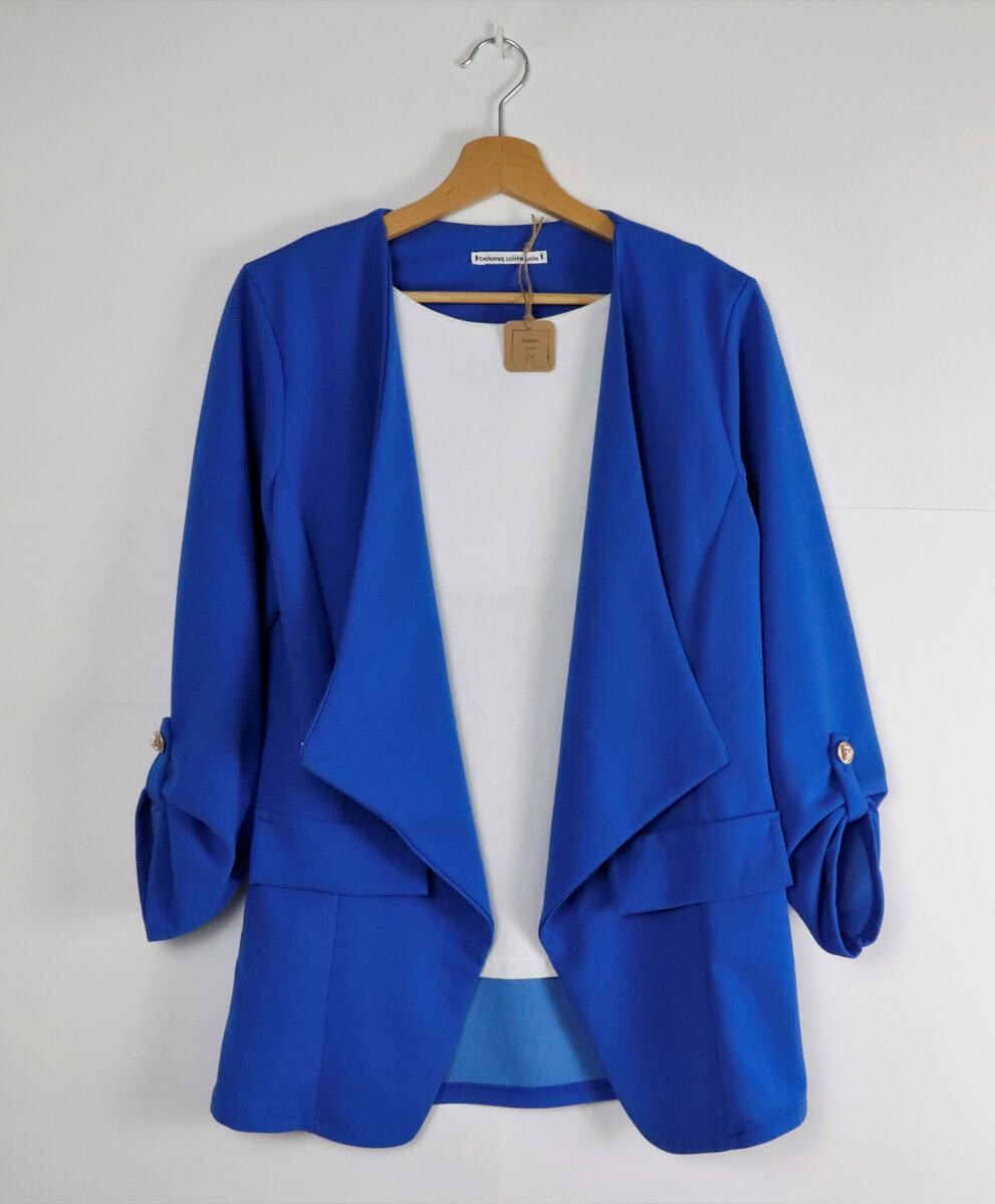 Blazer Blue Klein