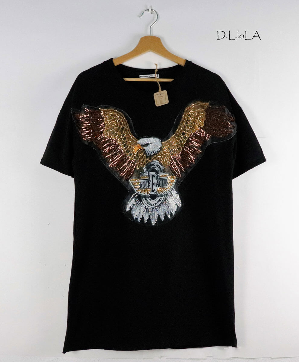 Vestido Águila Black