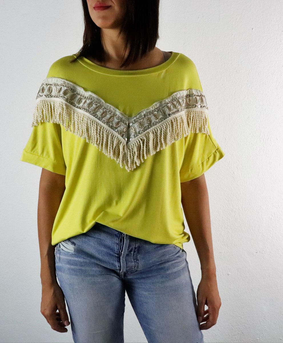 Camiseta Indie Amarilla
