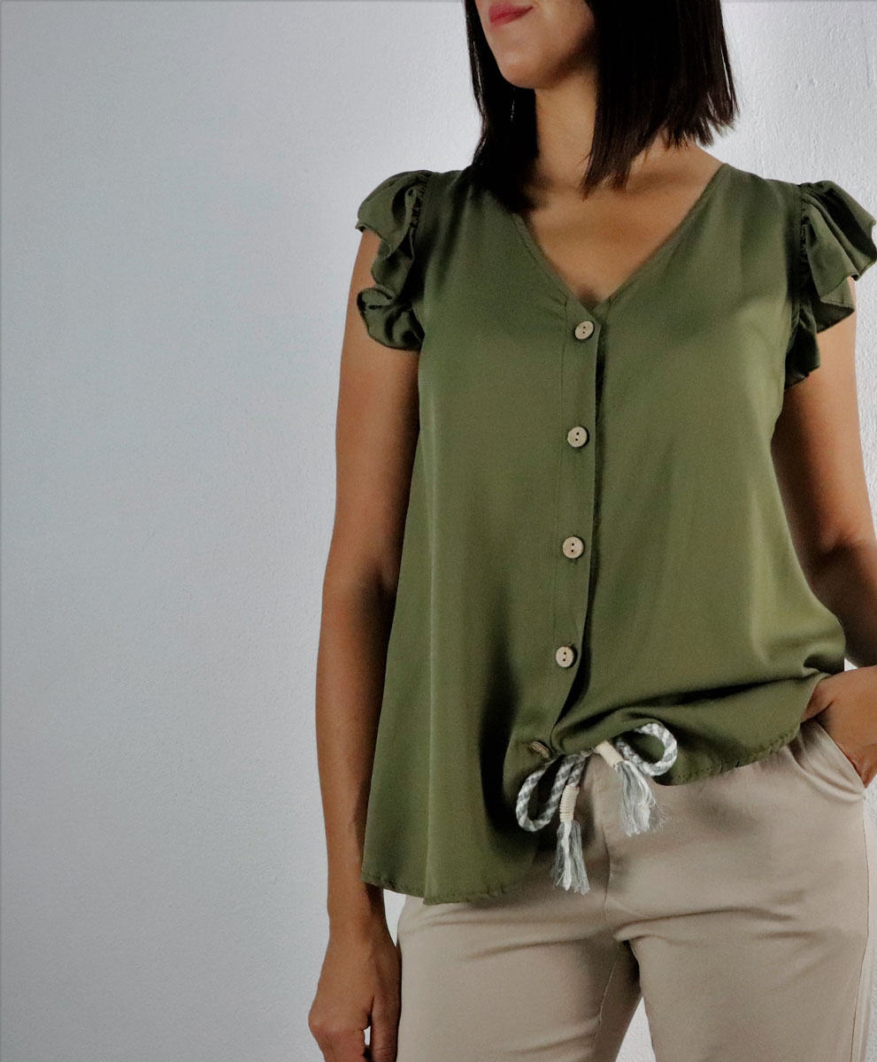 Blusa Carmen Verde