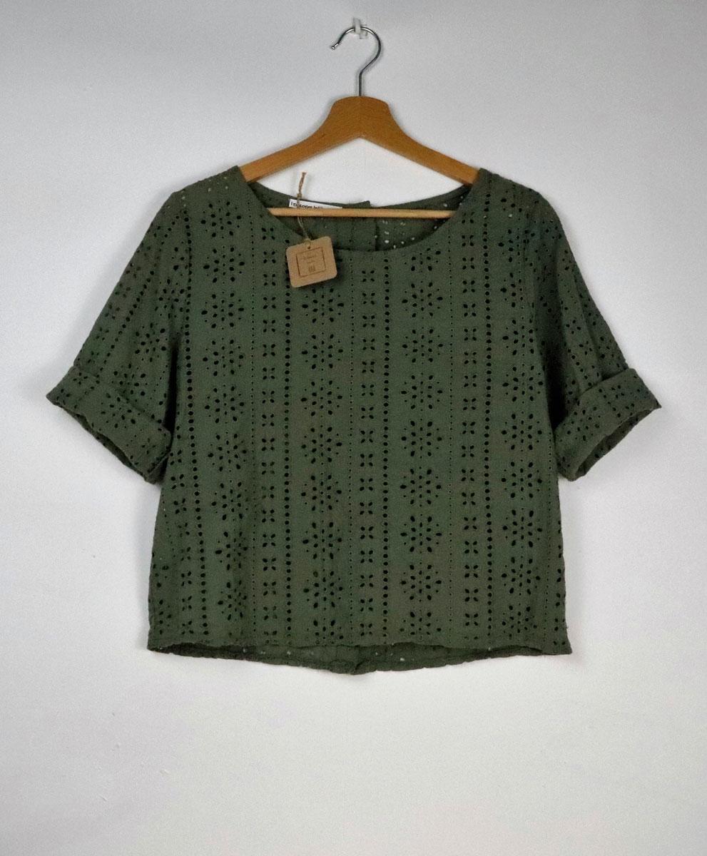 Blusa Calada Verde