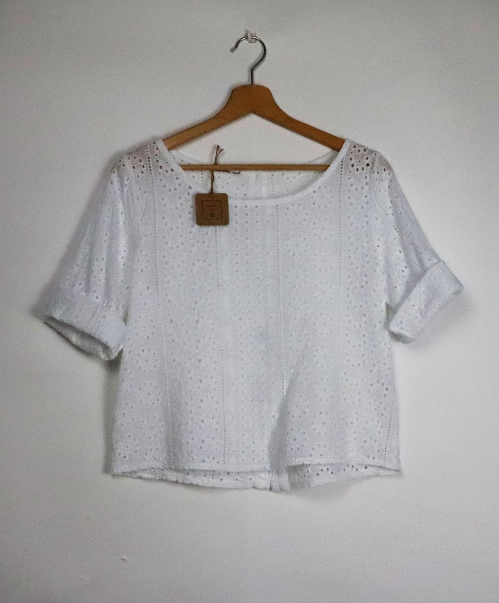 Blusa Calada Blanca