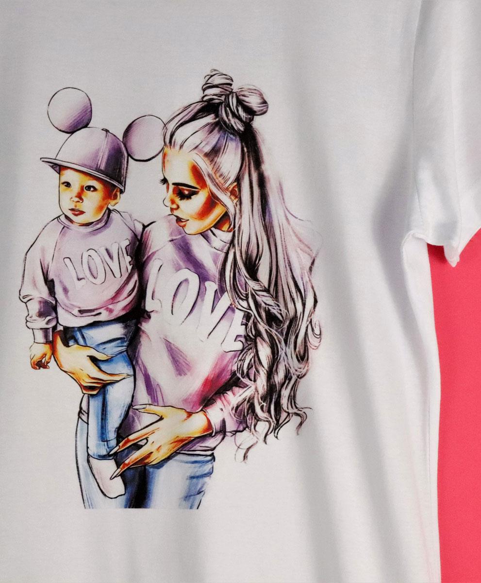 Camiseta Mum Love