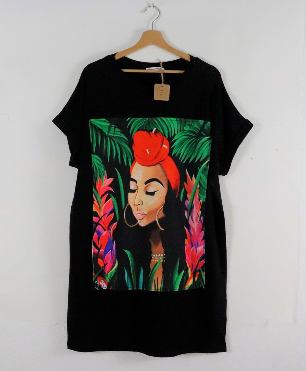 Vestido Cuba Negro
