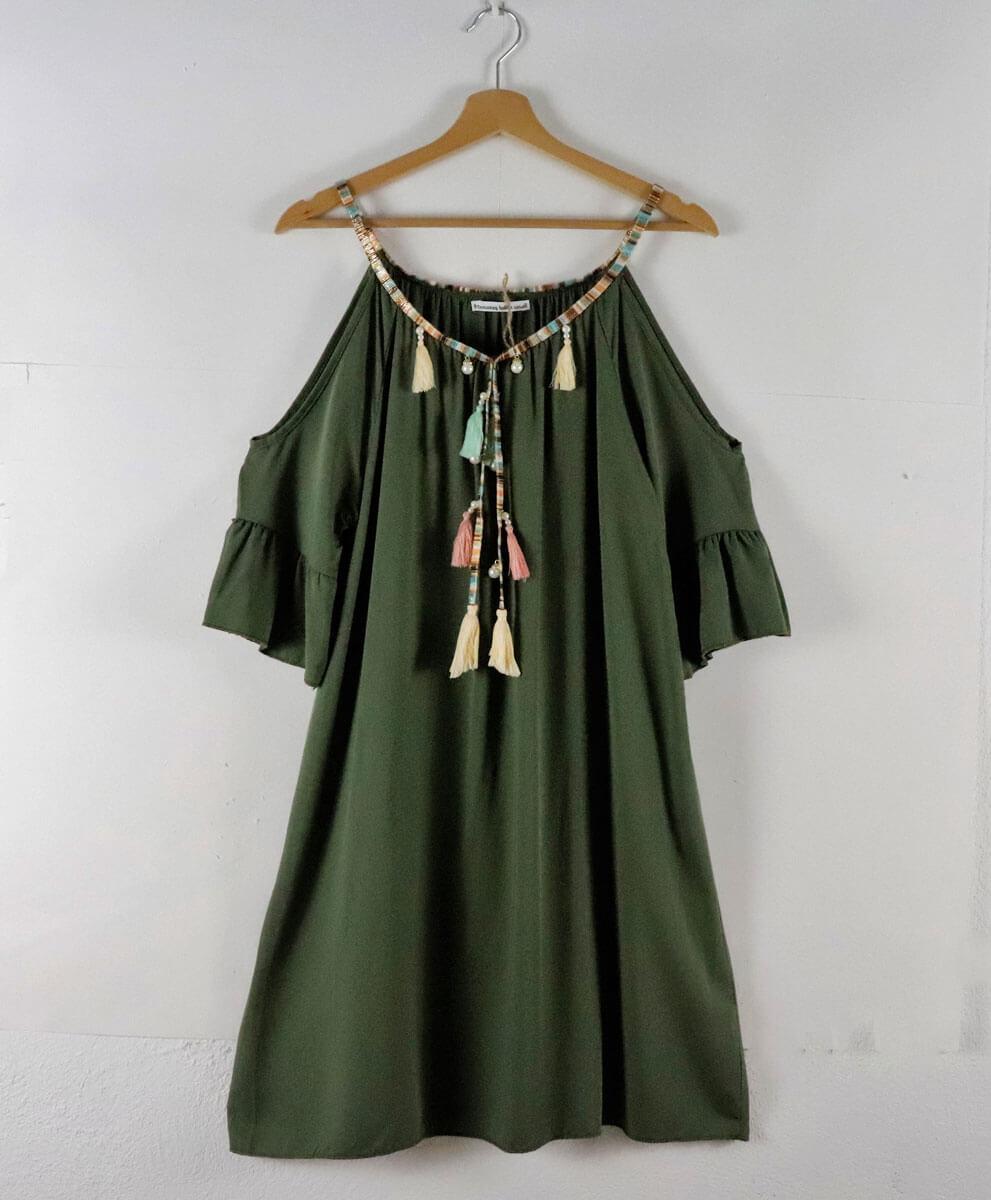 Vestido Indi Verde