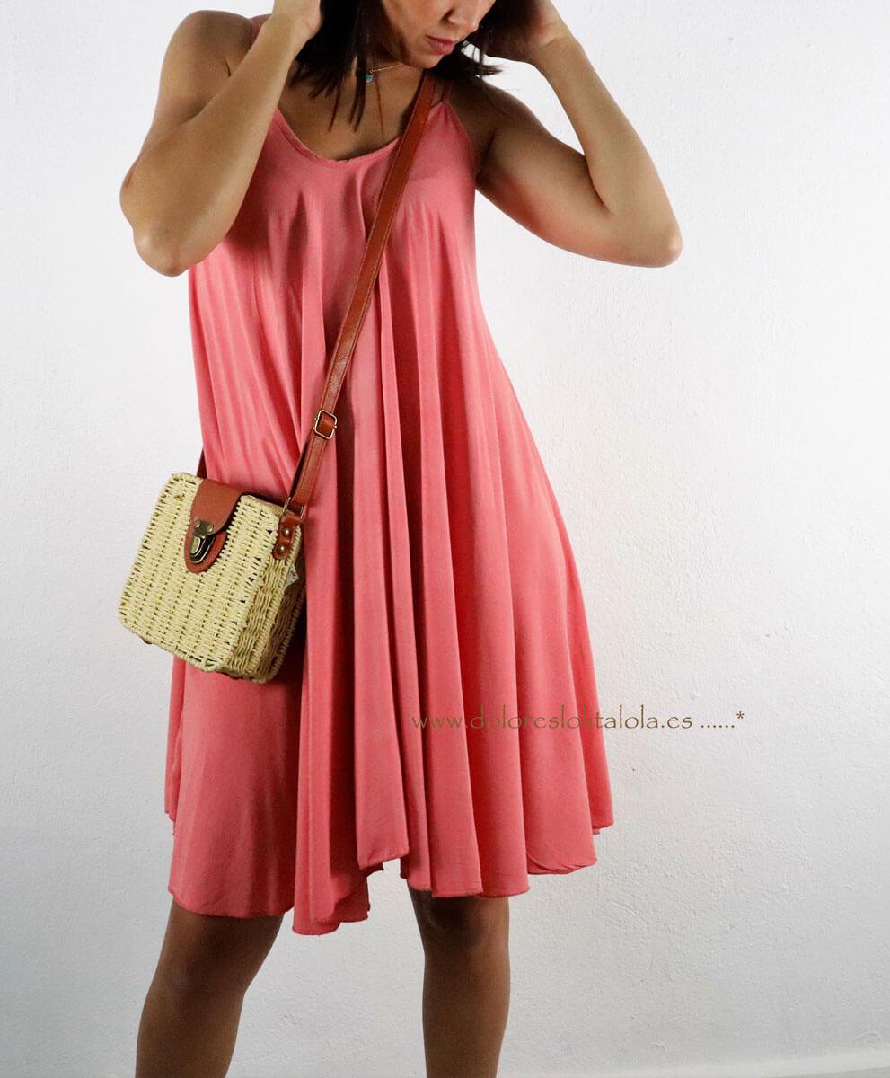 Vestido Fiyi Rosa