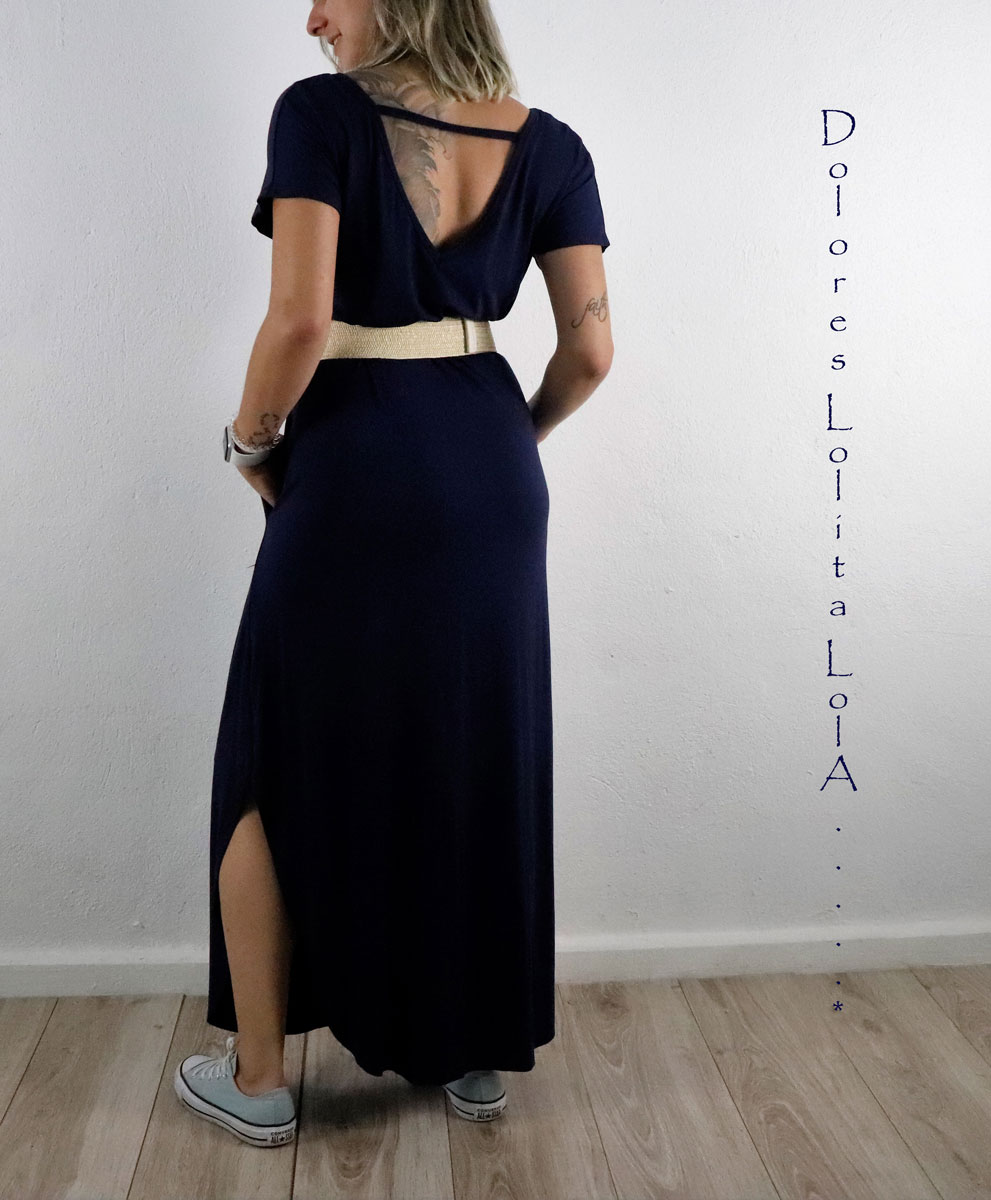 Vestido Vanu Blue