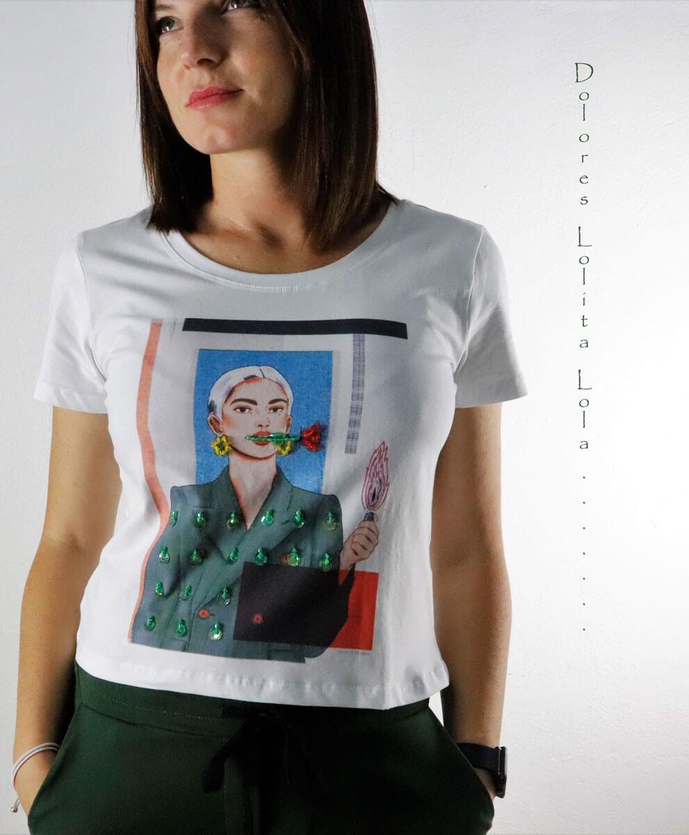 Camiseta Brilli Woman