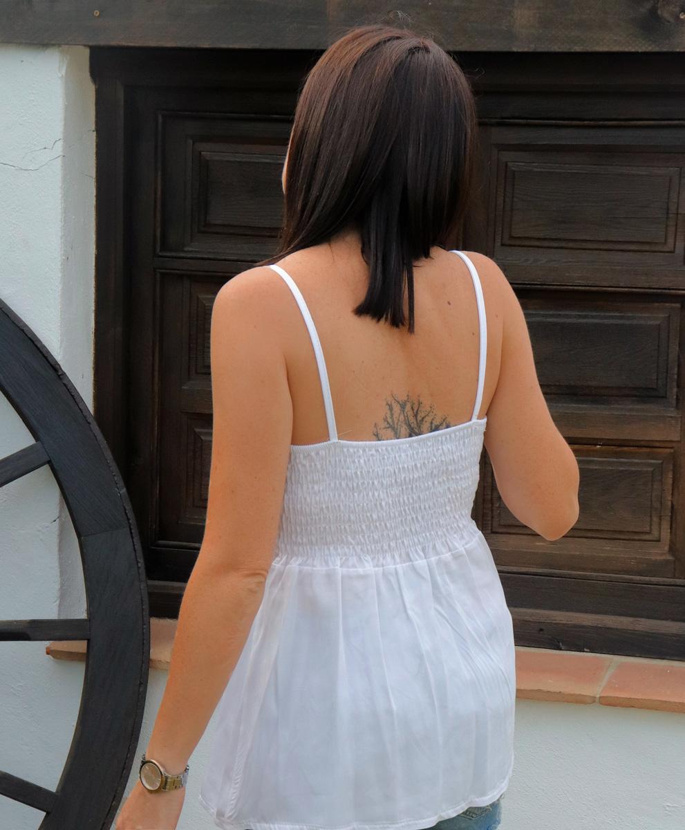 Blusa Ibiza Blanca