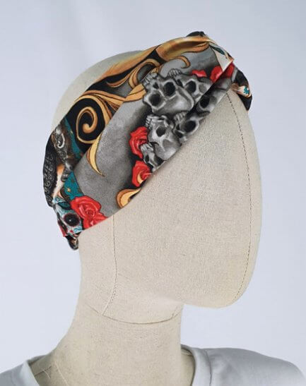 Turbante Calaveras