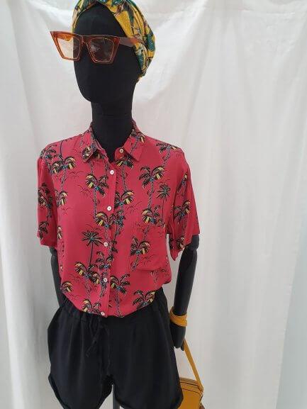 Camisa palmeras color