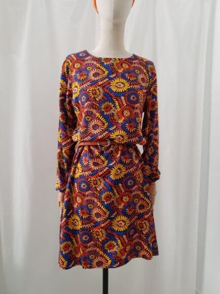 Vestido girasoles de colores