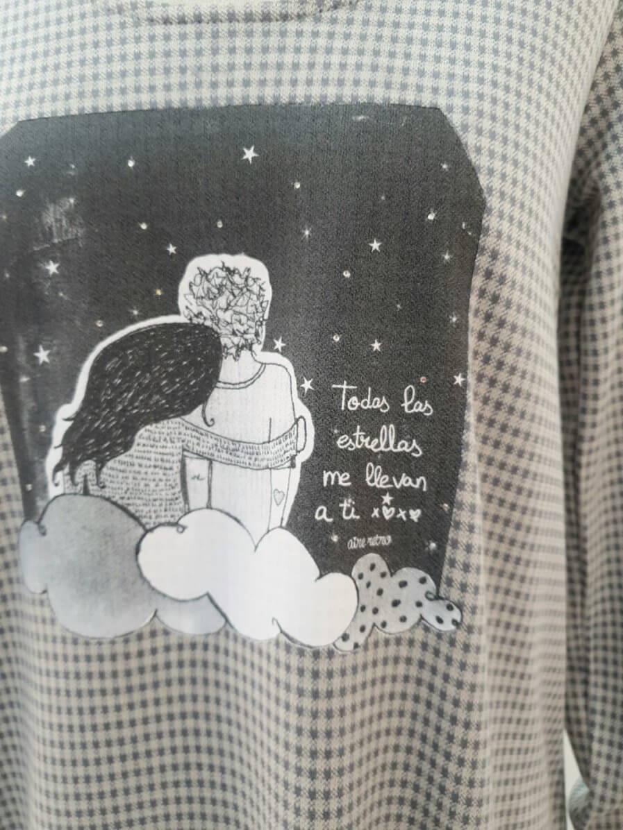 """Vestido """"Todas las estrellas me llevan a ti"""""""