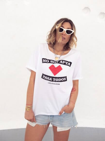 "Camiseta ""No apta"""