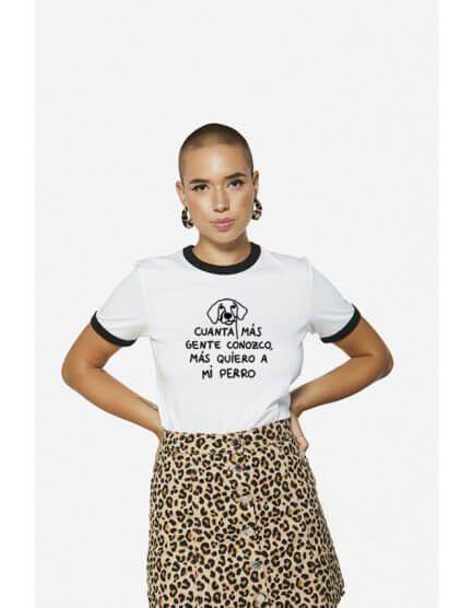 """Camiseta """"Cuanta mas gente conozco.."""