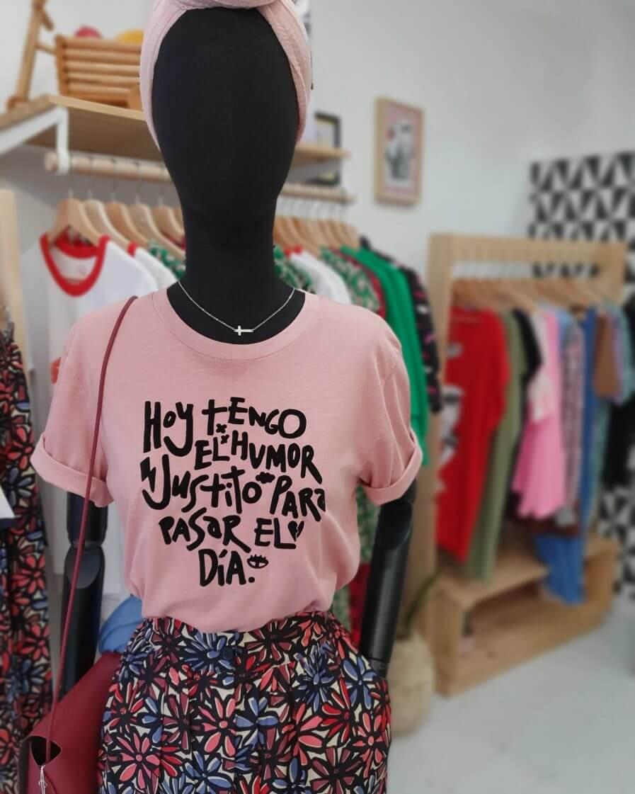 "Camiseta ""humor justito"""