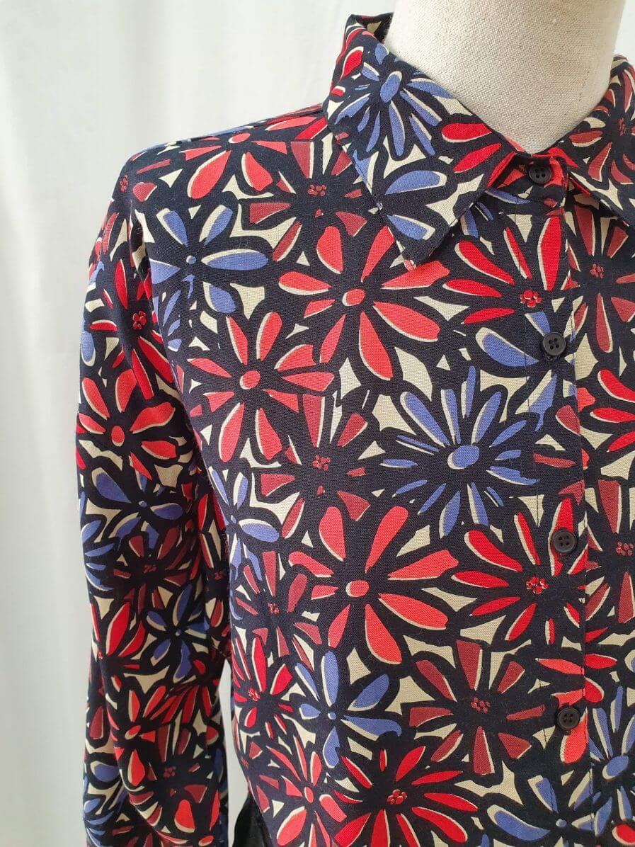 Camisa margaritas de colores